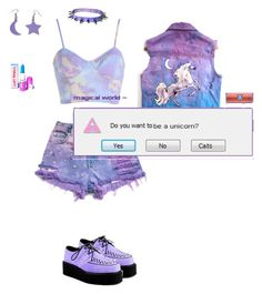 """Sem título #326"" by polarberr on Polyvore featuring moda e Lime Crime"