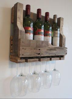 Make yourself wine racks