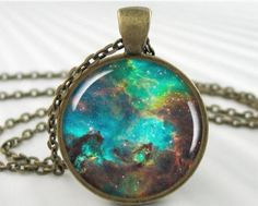 Nebula Necklace Pendant