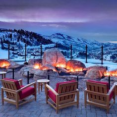 Head over to St. Regis Deer Valley, Park City, Utah for an eco-friendly winter getaway! Vacation Places, Vacation Destinations, Dream Vacations, Vacation Spots, Places To Travel, Places To Go, Mountain Vacations, Vacation Ideas, Ski Vacation