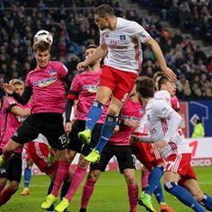 German Bundesliga: Hamburger SV vs Hertha BSC