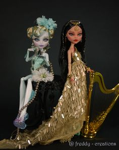Freddy Tan's Monster High Doll Repaints