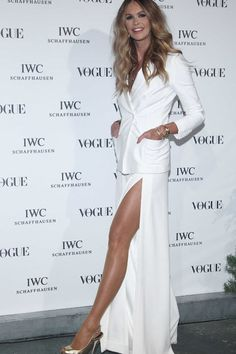 Elle Mcpherson hair & dress... perfection !!!