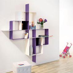 Libreria scaffale design Mondrian-5