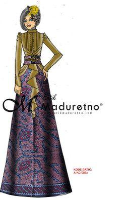 abaya gamis batik pesta visit our website : batikmaduretno.com