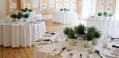 herbal wedding decor - by Pollen Nation in London.