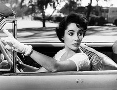 Elizabeth Taylor in'A Place in the Sun' (1951).