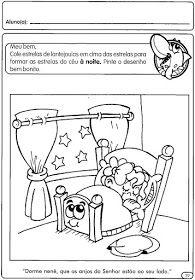 Atividades Para Educacao Infantil Dia E Noite Espaco Educar