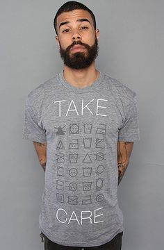 The Take Care Tee by Simplified Clothing