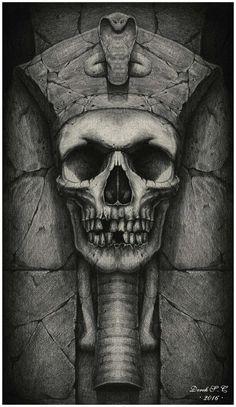 VI. Akhenaten by Derek-Castro