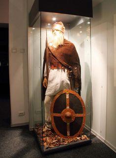 Dacian in traditional attire -  Batca Doamnei museum