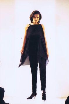 Mart Visser Haute Couture Spring Summer 1994 Chiffon Top