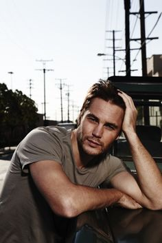 Taylor Kitsch - plays Mike Murphy in Lone Survivor. Very handsome.