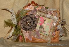 Heather A Hudson: Vintage Paper Bag Mini Swap