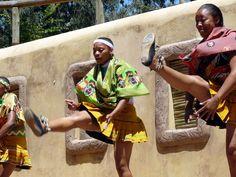 Dancers at Gold Reef City, Johannesburg