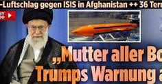 دونالد ترامپ با مادر همه بمب ها به ايران هشدار داده است #دونالدترامپ #ايران#مادر#بمب_ها