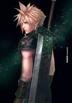 Final Fantasy Funny, Final Fantasy Cloud, Final Fantasy Characters, Final Fantasy Vii Remake, Fantasy Series, Stock Character, Game Character, Zack Fair, Final Fantasy Collection