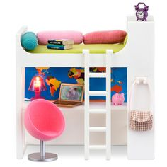 Smaland dollhouse furniture for the Lille Huset houses . . .