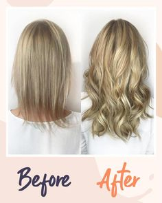 Clip-In Hair Extensions for Thin Hair – pentacute Easy Hairstyles, Straight Hairstyles, 1920s Hairstyles, Extensions For Thin Hair, Clip In Extensions, Hair Extension Clips, Blonde Hair Looks, Balayage Hair, Ombre Hair