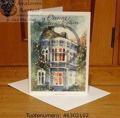 Minna Immonen home warming card / Minna Immosen tupaantulijaiskortti