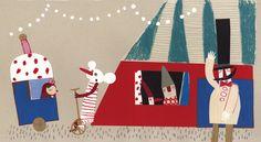 Carmen Queralt escribe e ilustra Ventanas, un álbum ilustrado que constituye una de las novedades de la editorial Edelvives para la temporada de otoño y Navidad 2013.
