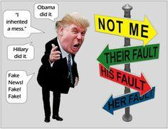 trump* the man child Trump Cartoons, Political Cartoons, Political Satire, We Are The World, Republican Party, Donald Trump, Shit Happens, Trump Idiot, Trump Meme