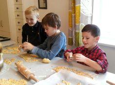 Kekse backen mit Kinder