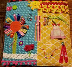 "My first ""Busy Quilt"". Luann Hoskins"