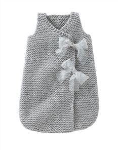 Babies Knitting Patterns Sleepsack for Girl Pattern  (part of whole book) - $7.00
