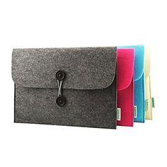 Eenvoudig Ontwerp Vilt Materiaal Liner Pakket voor MacBook Air (verschillende kleuren) – EUR € 24.93