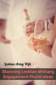 Stunning Lesbian Military Engagement Photo Ideas