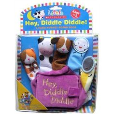 Little Scholastic: Hey Diddle Diddle: A Hand-Puppet Board Book