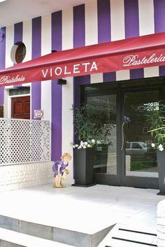cutest storefront ever? // Violeta Pasteleria Buenos Aires