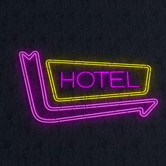 Hotel Neon Sign by nvere | 3DOcean