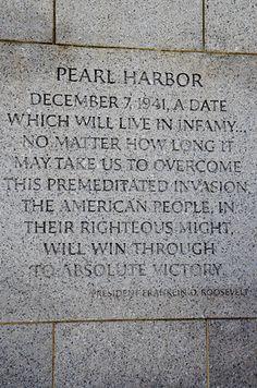 Inland Northwest Honor Flight  Pearl Harbor  Dec 7 1941 at the WWII Memorial, Washington D.C.