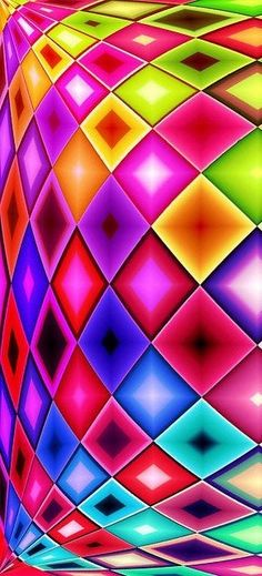 Psychedelic plaid!
