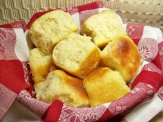 Buttery Yeast Rolls... not the healthiest, but these were really good especially with grassfed cultured butter. :)
