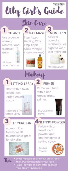 Oily Girls Guide| Makeup and Skincare Tips for Women with Oily Skin