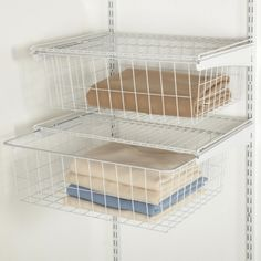 We Love ShelfTrack Drawers Theyre The Perfect Accessory To Add Your ClosetMaid