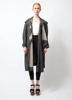Issey Miyake | 80's Iconic Oversized Trench  | RESEE