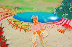 Yoko Yuki takes us on a bizarre jaunt into town in this kaleidoscopic animation.