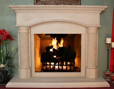 MT201 Fireplace mantel picture