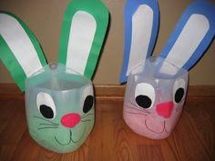 Milk jug Easter Baskets
