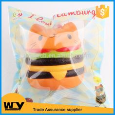 2017 New design kawaii hamburger design slow rising toy squishy toy, View squishy, OEM Product Details from Shenzhen Wei Chen Yang Technology Co., Ltd. on Alibaba.com