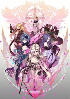 Zero & Five Sisters - Characters & Art - Drakengard 3