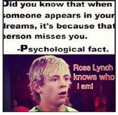 i just had a dreamed about r5 last night!!!!!!!!!!!!! they must know who I am!!!!!!!! :)