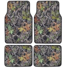 Create a sense of leisure and relaxation to your foot by adding this BDK Hawg Camouflage Full Camo Car Floor Mats. Rubber Floor Mats, Rubber Flooring, Car Floor Mats, Camo Car Accessories, Forest Design, Camo Designs, Car Covers, Camouflage, Outdoor Blanket