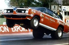 Ronnie Sox- the Maestro of the 4-speed in the famous Sox & Martin Plymouth Barracuda