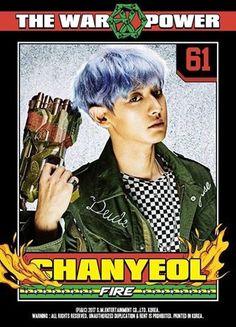Chanyeol  #KOKOBOP #EXO #POWER #EXO_POWER #CHANYEOL