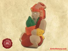Mayan Empire - Maize God Sculpture AD) - - World History Projects South American History, World History Projects, Mystery Of History, Middle Ages, Maya, Art Projects, Empire, Sculpture, God
